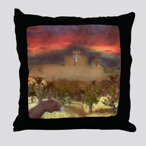 City on a Hill, Image One Throw Pillow