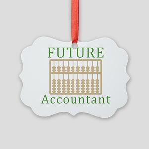 Future Accountant Picture Ornament