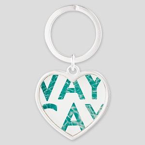 vaycay Heart Keychain