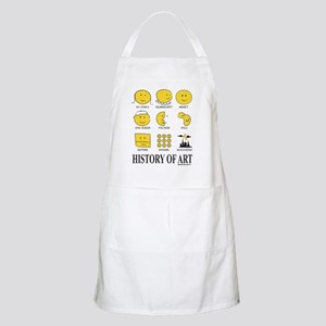 History of Art Smileys Apron