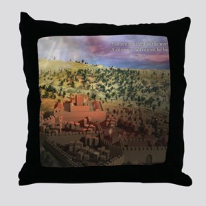 City on a Hill, Image Two Throw Pillow