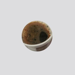 Delicious Caffeine Mini Button