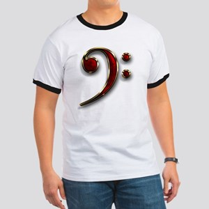Bass Clef Ringer T