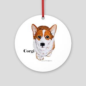 Corgi Round Ornament