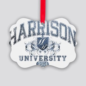 Harrison Last name University Cla Picture Ornament