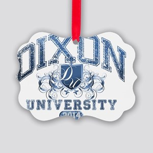 Dixon Last name University Class  Picture Ornament