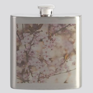 Soft Blossoms Flask