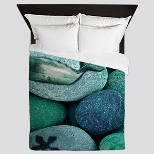 Shoreline Treasures * Queen Duvet