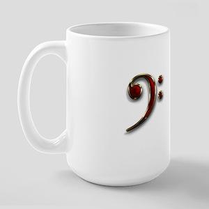 Bass Clef Double 2 Large Mug