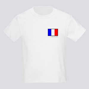 French Girl Kids Light T-Shirt