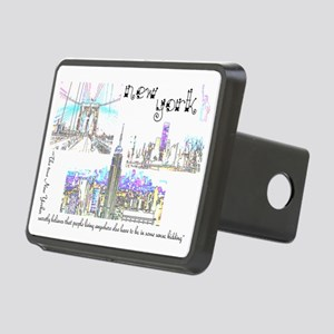 New York (wide) Rectangular Hitch Cover