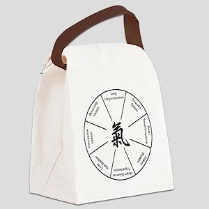 Qi Gong Basic Eight T-Shirt Canvas Lunch Bag
