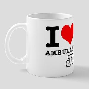 I love my ambulance driver driver job Mug
