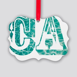 CA Picture Ornament