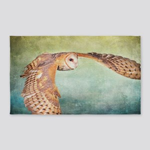 Barn Owl 3'x5' Area Rug