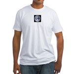 Jupiter w/moons Fitted T-Shirt