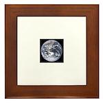 Jupiter w/moons Framed Tile