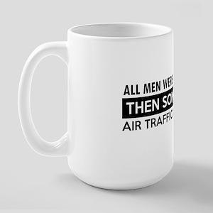 Air traffic control designs Large Mug