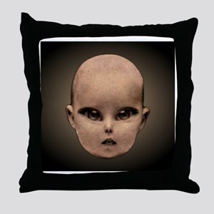 Congratulations! Its A Ghoul! Throw Pillow