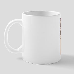 Damask Creamy Blank Mug