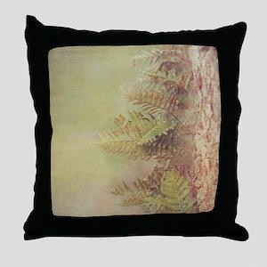 Little Ferns Throw Pillow