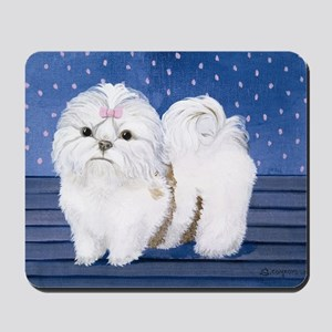 StephanieAM Shih Tzu Mousepad