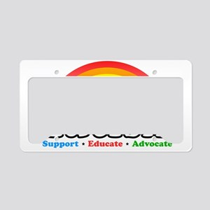 Autism License Plate Holder