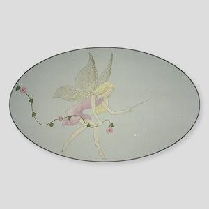 StephanieAM Fairydust Sticker (Oval)