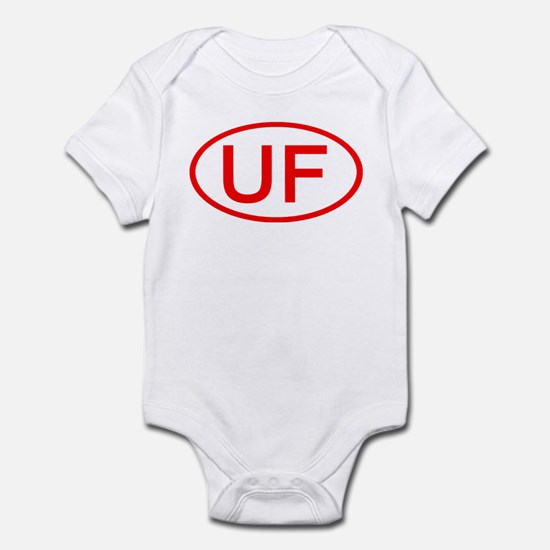 UF Oval (Red) Infant Bodysuit