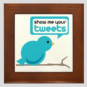 Tweets Framed Tile