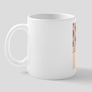 Damask Creamy Mug