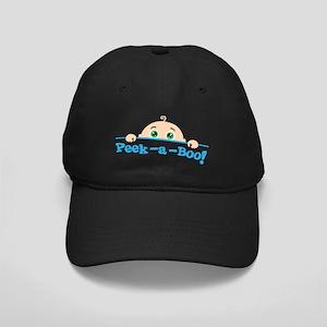 Peek a Boo Black Cap