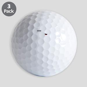 BIKE MALFUNCTIONS white image Golf Balls