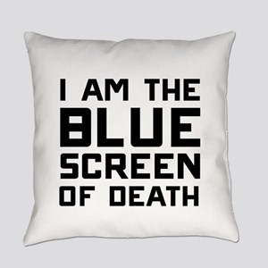 I am the BLUE screen of death Everyday Pillow
