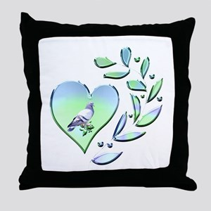Pigeon Lover Throw Pillow