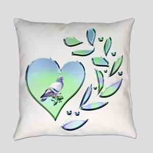 Pigeon Lover Everyday Pillow
