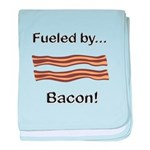 Fueled by Bacon baby blanket