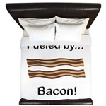 Fueled by Bacon King Duvet