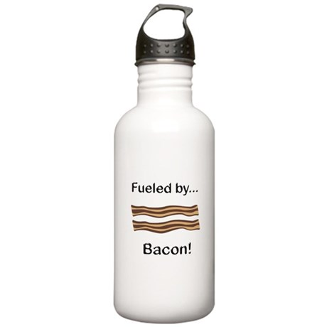 Fueled by Bacon Stainless Water Bottle 1.0L