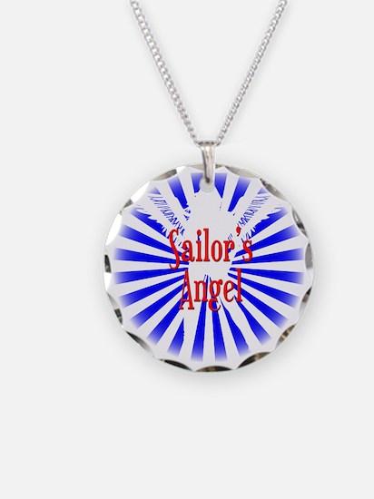 Sailor Angel W Necklace