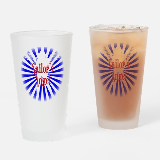 Sailor Angel W Drinking Glass