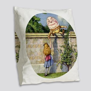 Alicehumpty_RD Burlap Throw Pillow