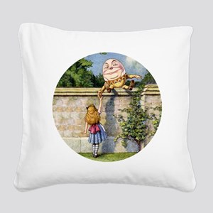 Alicehumpty_RD Square Canvas Pillow
