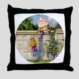 Alicehumpty_RD Throw Pillow