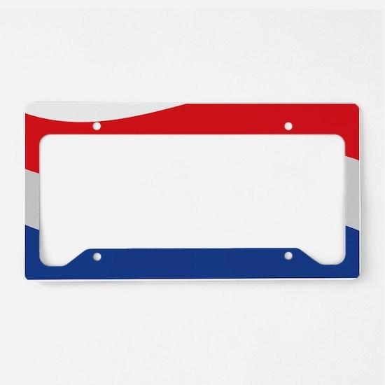netherlands License Plate Holder