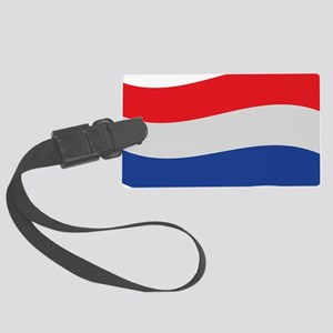 netherlands Large Luggage Tag