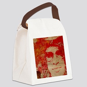 Slash in abstract Canvas Lunch Bag