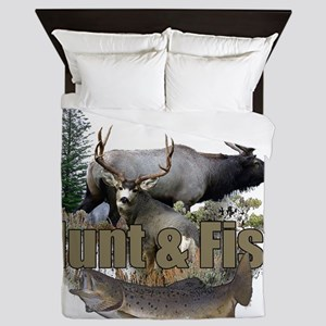 Hunt and Fish Queen Duvet
