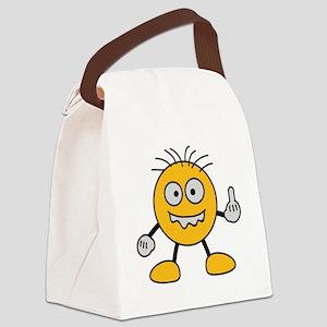 bad_finger Canvas Lunch Bag