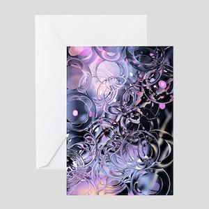 Pastel Pool Cat Forsley Designs Greeting Card